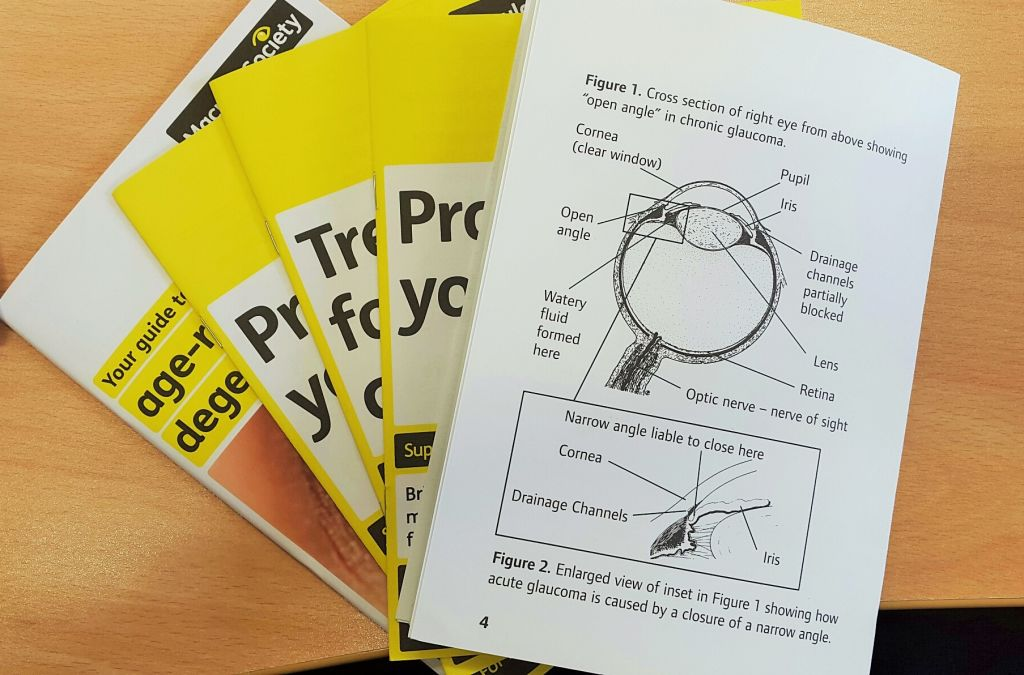 Information and leaflets about Glaucoma avaialable from Richard Petrie Optometrists