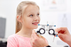 Children's eye tests should be done annually until the age of 13