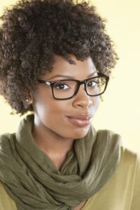 Eye make-up tips for glasses wearers