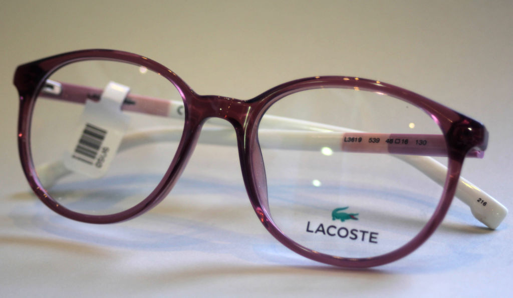 Children's Lacoste Frames at Richard Petrie Optometrists