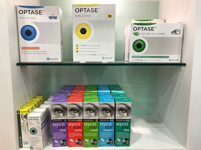 Scope ophthalmics dry eye products
