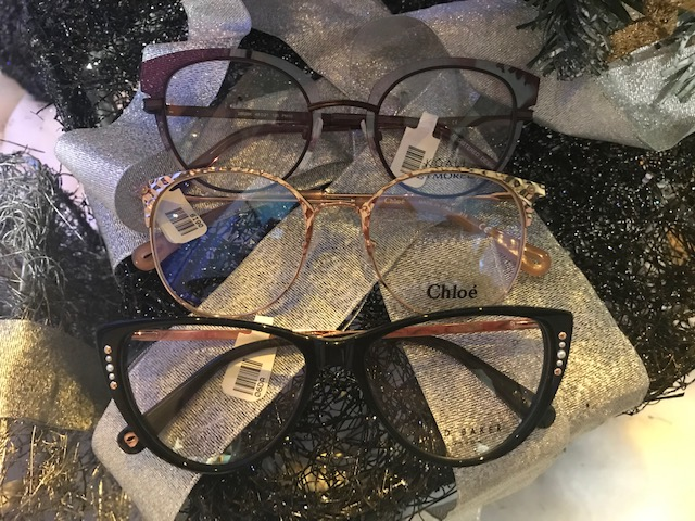 Designer frames in stock, Koali, Chloe and Ted Baker