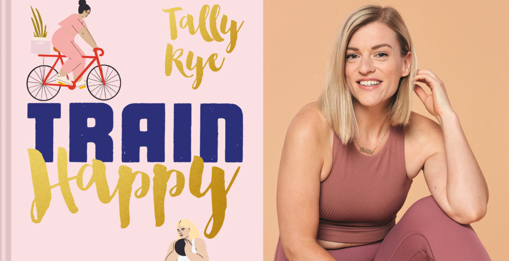 Train Happy book with image of author Tally Rye