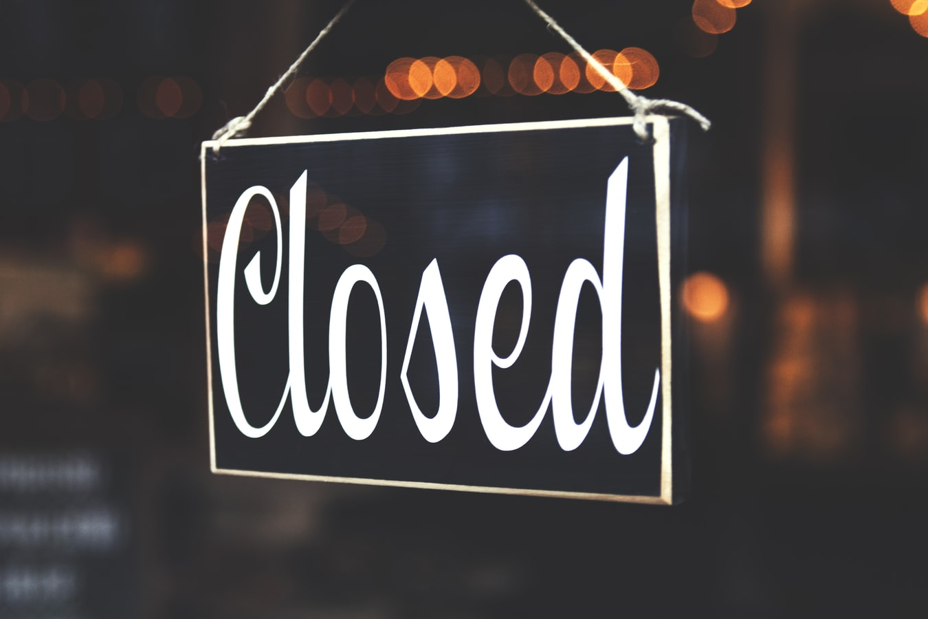 Covid-19 Practice Update: We are closing.